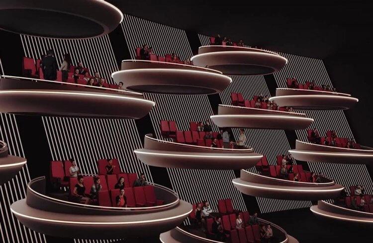 巴黎科幻電影院 Ōma Cinema。