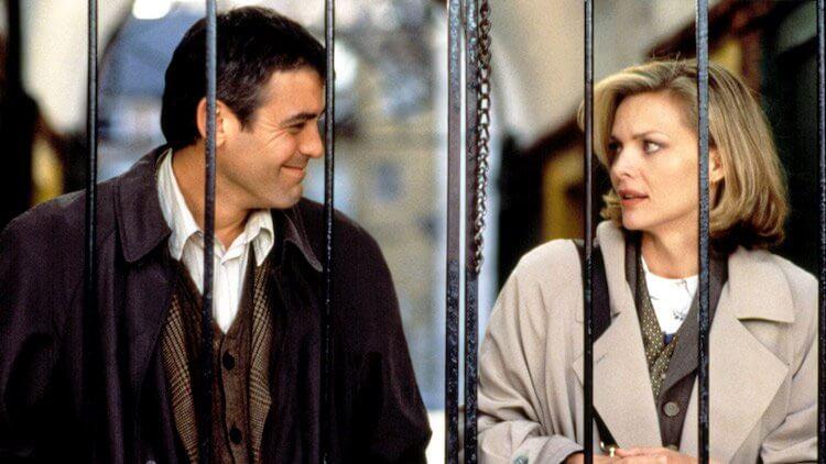 《一日鍾情》喬治克隆尼與蜜雪兒菲佛。