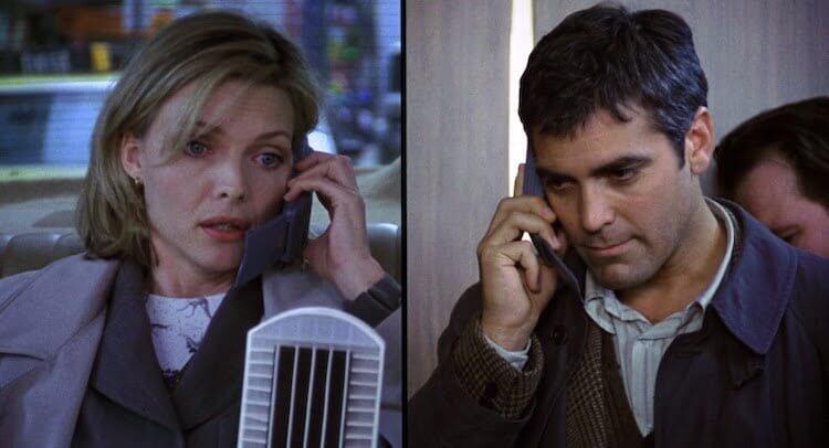 《一日鍾情》蜜雪兒菲佛與喬治克隆尼。