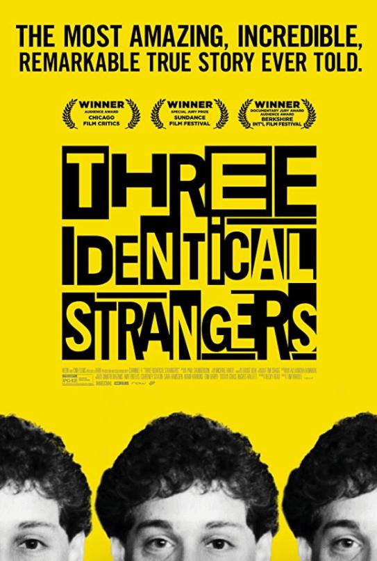 《三個一模一樣的陌生人》海報。