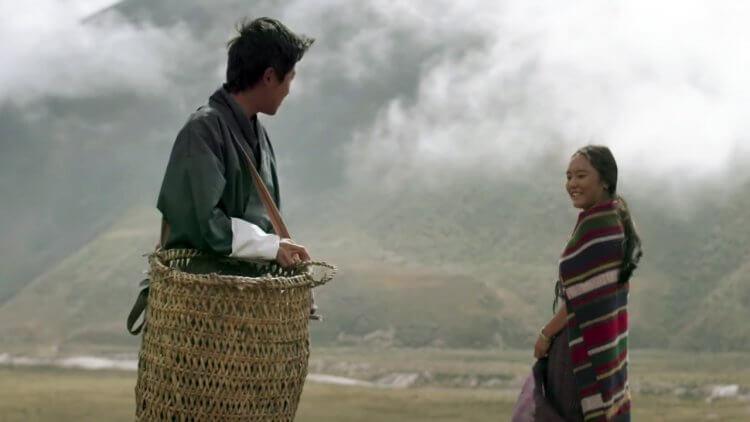 電影《不丹是教室》劇照。