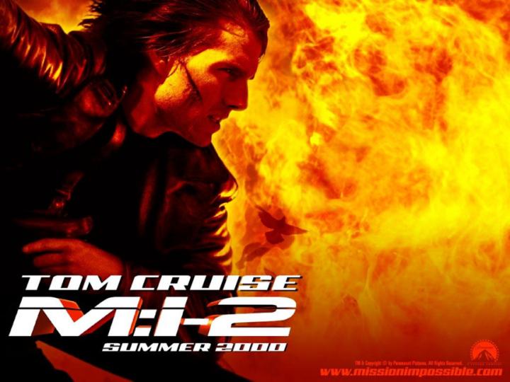 2000 年電影《 不可能的任務2 》依然是由 阿湯哥 領銜主演。
