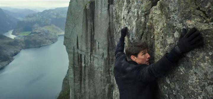 《 不可能的任務2 》玩命攀岩,《 不可能的任務:全面瓦解 》又來一次!