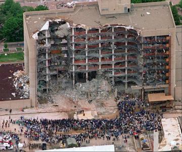 曾作為《 不可能的任務3 》劇情參考的重大案件 : 奧克拉荷馬案 。