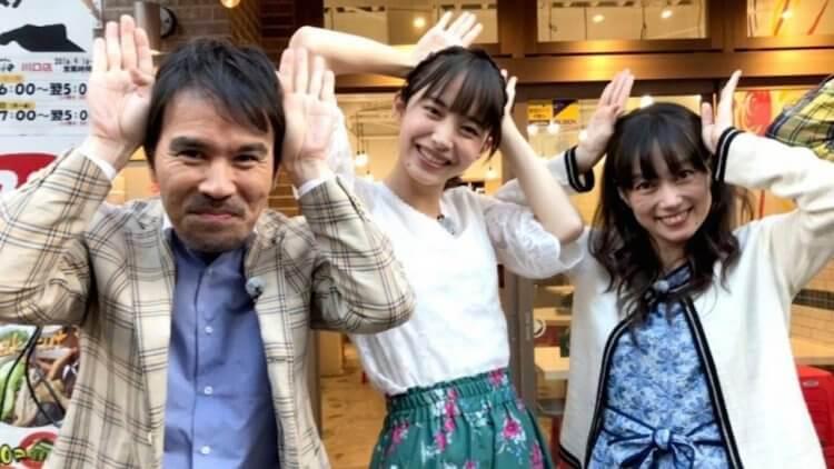 中:日本電影《伊索遊戲》飾演「兔子」兔草早織的演員井桁弘恵。