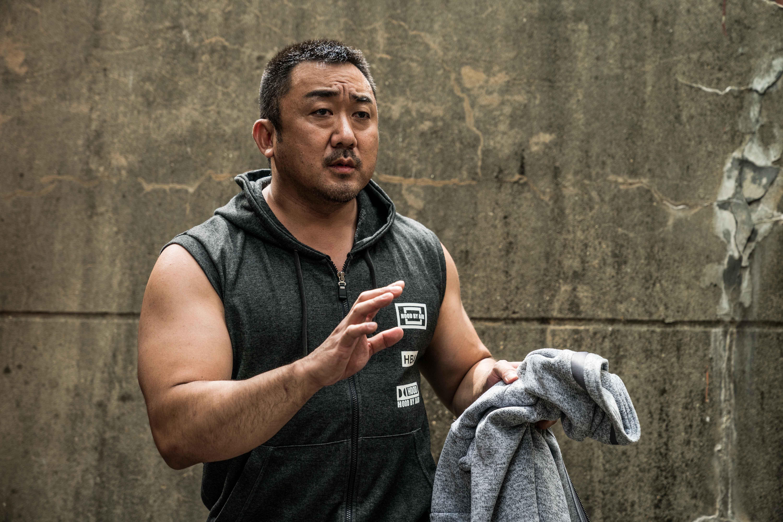 馬東錫 在韓片 冠軍大叔 中的劇照