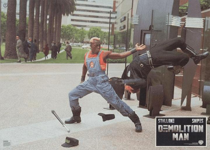 衛斯理史奈普 《 超級戰警 》 劇照 。