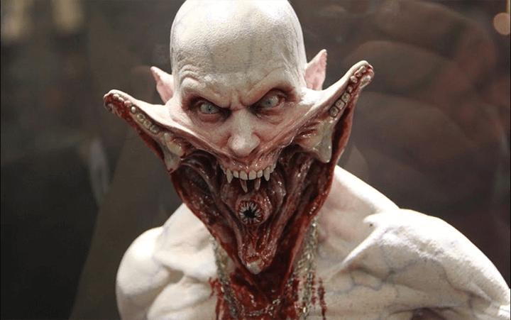 《 刀鋒戰士2 》中精巧萬分的鬼怪設定與特殊化妝造型。
