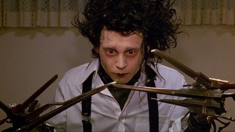 《剪刀手愛德華》強尼戴普。