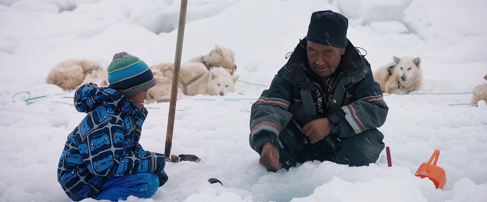 《 北極上學趣 》北極原住民「 因紐特人 」(Inuit)