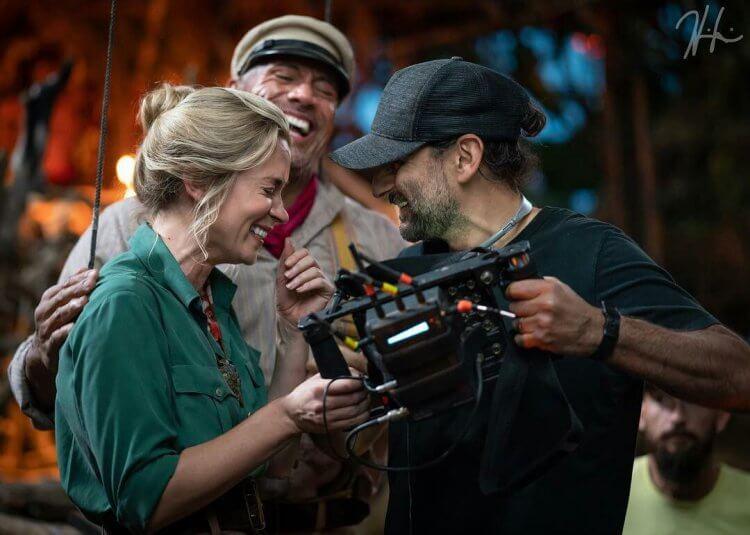 《叢林奇航》電影幕後花絮照片。