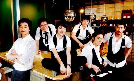 《咖啡王子一號店》演員群