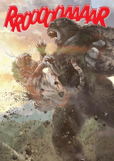 《哥吉拉大戰金剛》官方小說和 Kingdom Kong 漫畫場景02