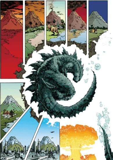 《哥吉拉大戰金剛》官方小說和 Kingdom Kong 漫畫場景05