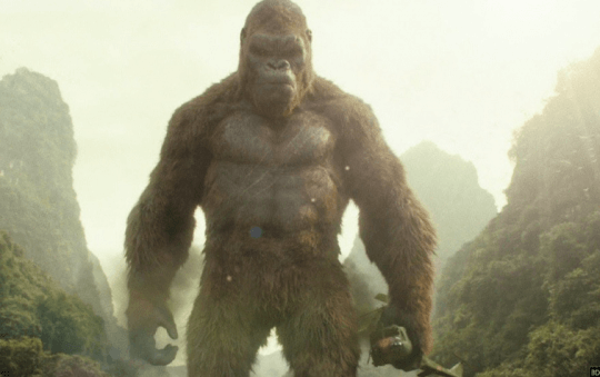 《金剛》(King Kong) 劇照。