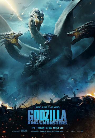 《哥吉拉 II:怪獸之王》電影海報。