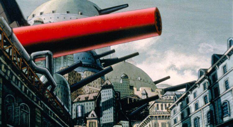 《回憶三部曲》之一〈大炮之街〉。