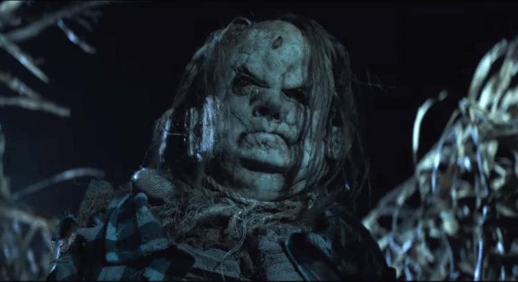 美國史上最恐怖童書《在黑暗中說的鬼故事》改編同名恐怖片,預告中的這張臉,是否出自故事中的稻草人哈洛?
