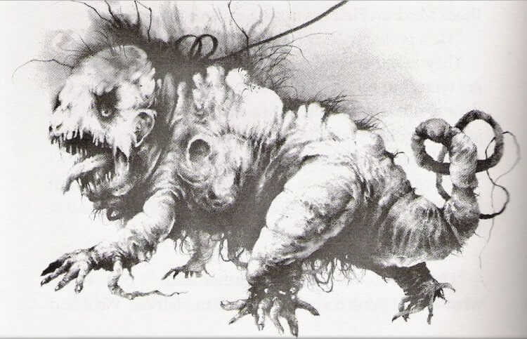 《在黑暗中說的鬼故事》預告片中可見到「山姆的新寵物」的奇妙巨鼠......
