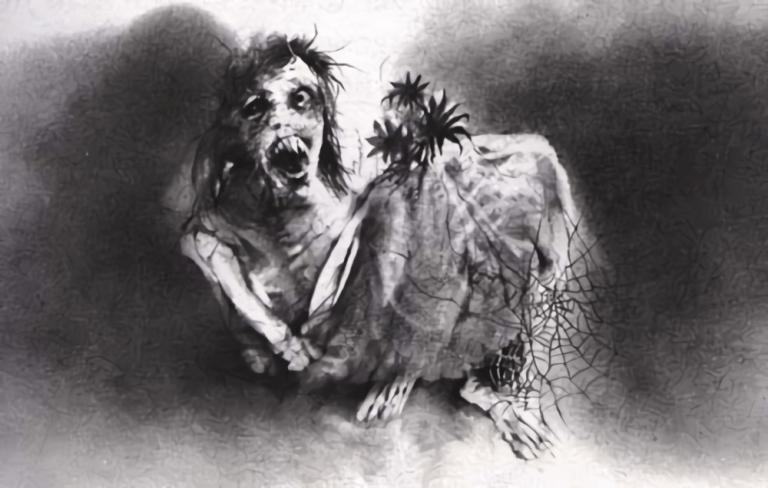 禁書-在黑暗中說的鬼故事-恐怖童書-插圖-10