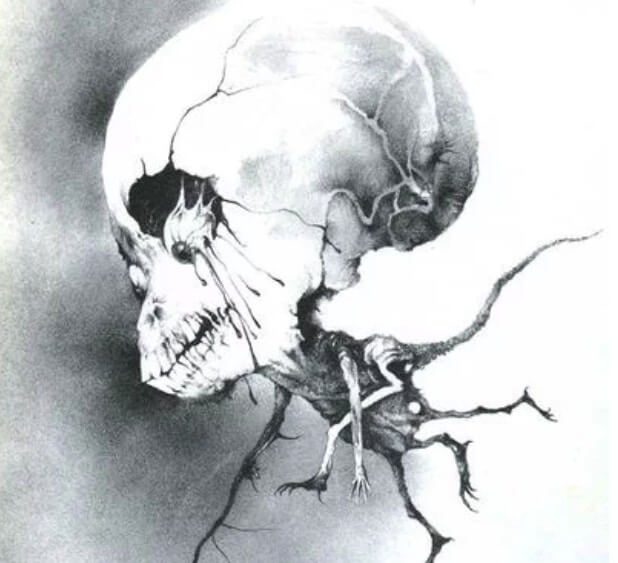 禁書-在黑暗中說的鬼故事-恐怖童書-插圖-11