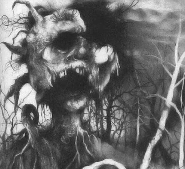 禁書-在黑暗中說的鬼故事-恐怖童書-插圖-12