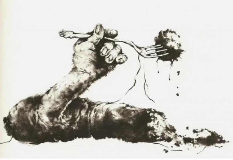 禁書-在黑暗中說的鬼故事-恐怖童書-插圖-13