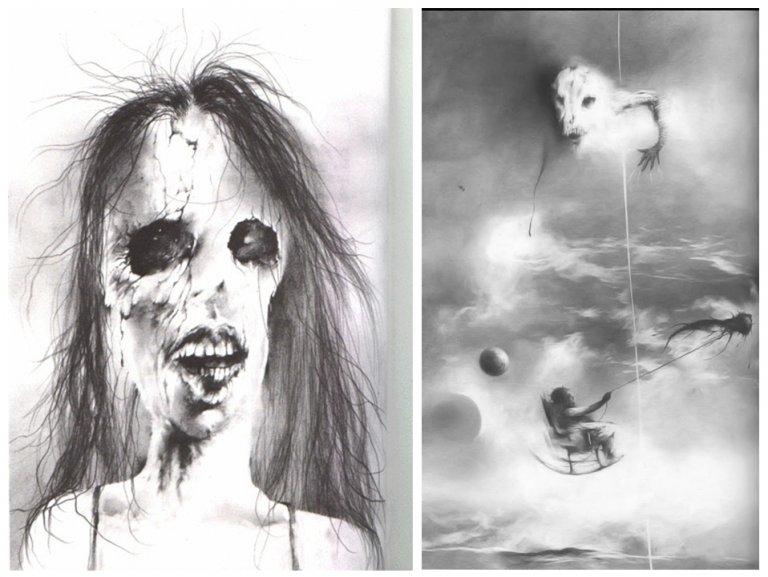 禁書-在黑暗中說的鬼故事-恐怖童書-插圖-3-4