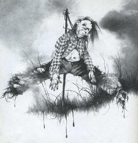 禁書-在黑暗中說的鬼故事-恐怖童書-插圖-7