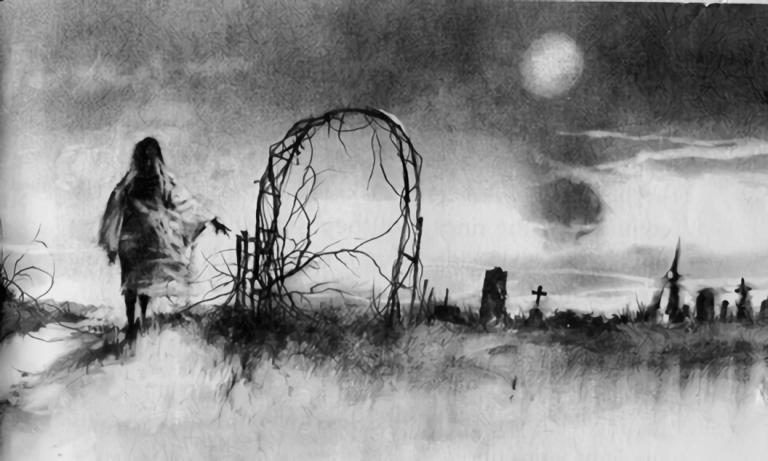 禁書-在黑暗中說的鬼故事-恐怖童書-插圖-8