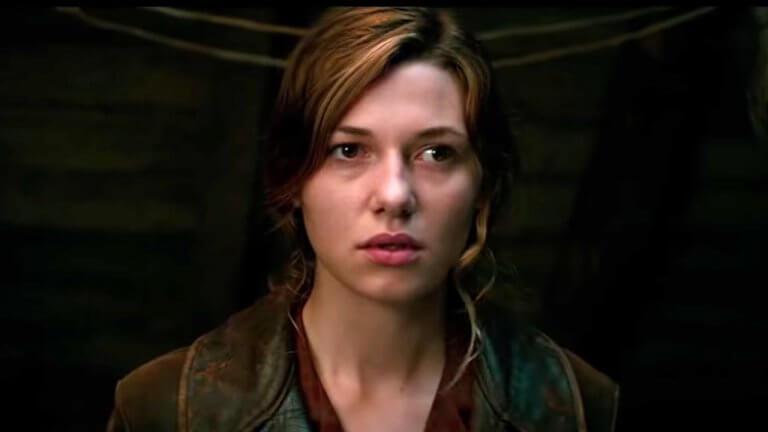 飾演克蘿伊的瑪蒂爾德奧利維,在《大君主行動》片中有不俗表現!