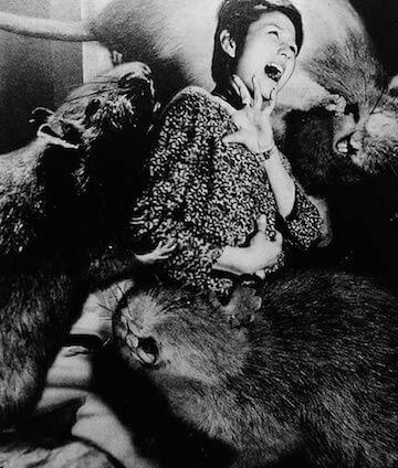 1964 年《大群獸嚙吱拉》(大群獣ネズラ)宣傳照。