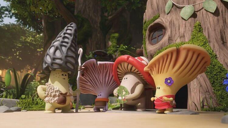 《大菇小菇闖天關》劇照。