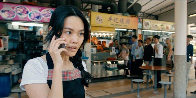 新加坡喜劇電影《媽哩媽哩烘》劇照。