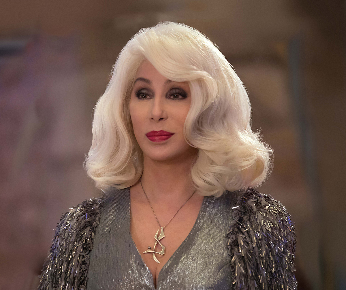 金像獎影后雪兒 於《 媽媽咪呀 ! 回來了》飾演 唐娜 的媽媽