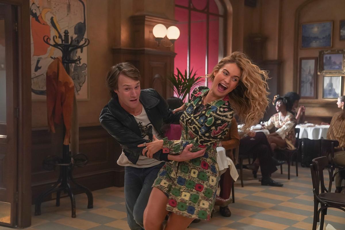 莉莉詹姆斯 為了飾演年輕版唐娜 狂看《 媽媽咪呀 ! 》10次以上