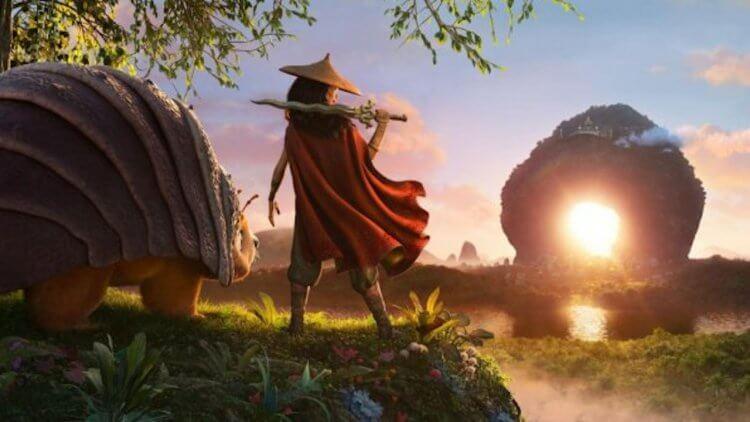《尋龍使者:拉雅》電影劇照。