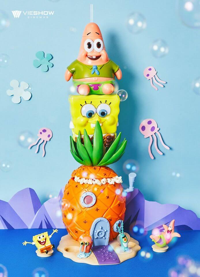 《海綿寶寶》-電影幼兒版海綿寶寶+派大星造型杯