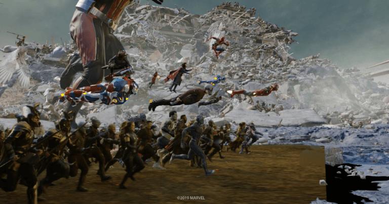 《復仇者聯盟4:終局之戰》(Avengers: Endgame) 幕後花絮。