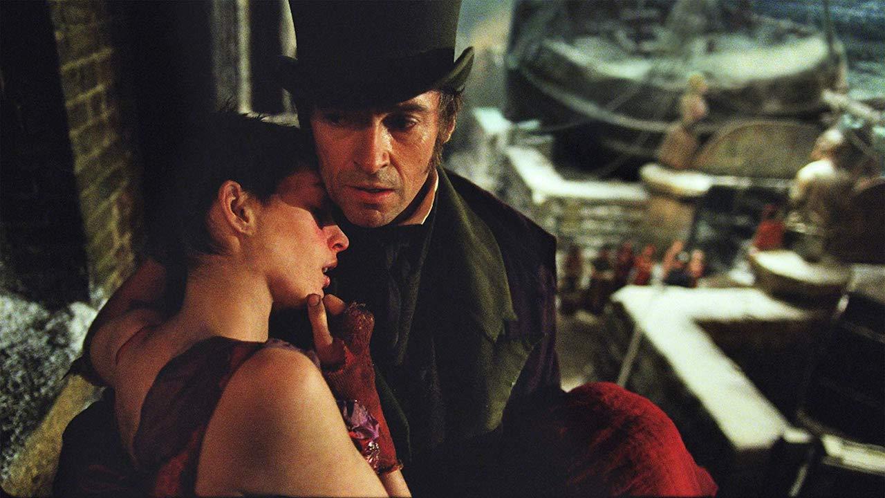 歌舞片 《 悲慘世界 》 安海瑟威 休傑克曼 劇照。