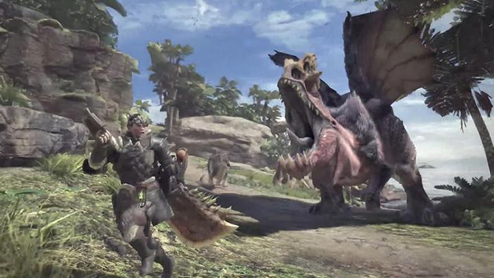 《 魔物獵人 》的遊戲不是打龍找素材,就是跑給龍龍追。