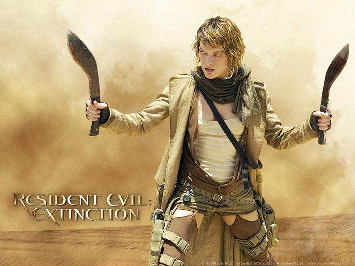 蜜拉喬娃維琪 應該是 保羅安德森 《 魔物獵人 》電影女主角的不二人選。