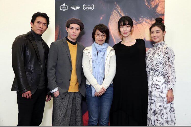 《愛・殺》黃尚禾(左起)、徐宇霆、陽靚、翁嘉薇。
