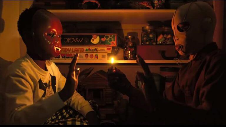 喬登皮爾驚悚現代寓言《我們》電影劇照。