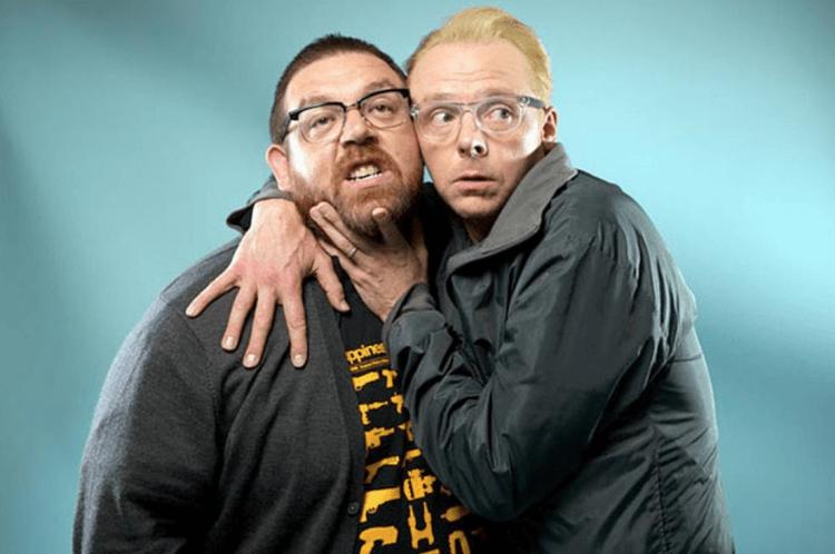 尼克佛洛斯特與賽門佩吉與將主演 Amazon Prime Video 影集《抓鬼剋星(暫譯)》。