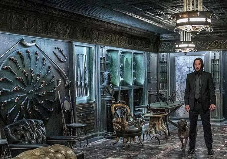 《捍衛任務》大陸酒店。