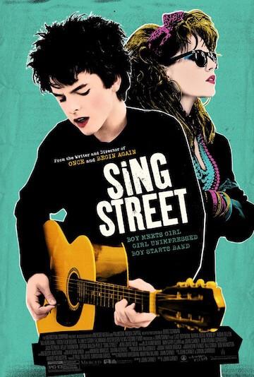 《搖滾青春戀習曲》電影海報。