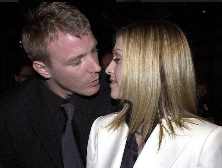 瑪丹娜與蓋瑞奇。