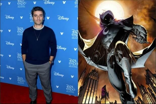 《月光騎士》是他?奧斯卡伊薩克有望飾演這位比死侍還瘋癲的異色漫威英雄,登上 Disney+ 播映