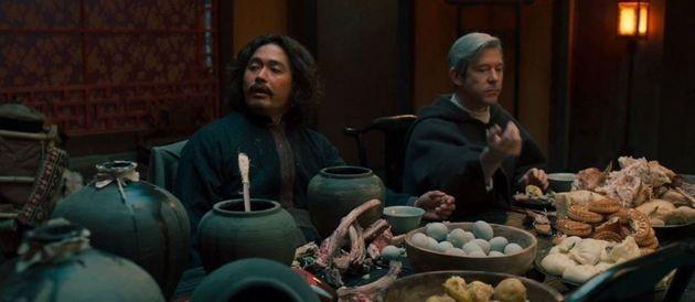 《朝鮮驅魔師》中出現大量中式飲食引發觀眾反感
